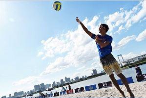 Odaiba Beach Volleyball 2018<Venue: Odaibakaihin Park>