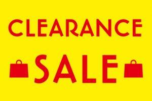 A clearance sale is being held! <AQUA CITY ODAIBA>