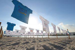 """731 Beach Day"" Message Art Exhibition 2019 – Let's Love Everyone's Beach and Sea <Symbol Promenade Park>"