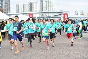 Smile Africa Project Running Festival 2019<Tokyo Rinkai Disaster Prevention Park>