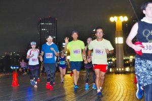Tokyo Odaiba Summer & Evening Marathon = Water Front City Aomi Summer Marathon =<Symbol Promenade Park>