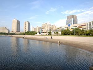 오다이바 레인보우 불꽃 놀이 2018 <Odaiba Marine Park(오다이바 해변공원)>