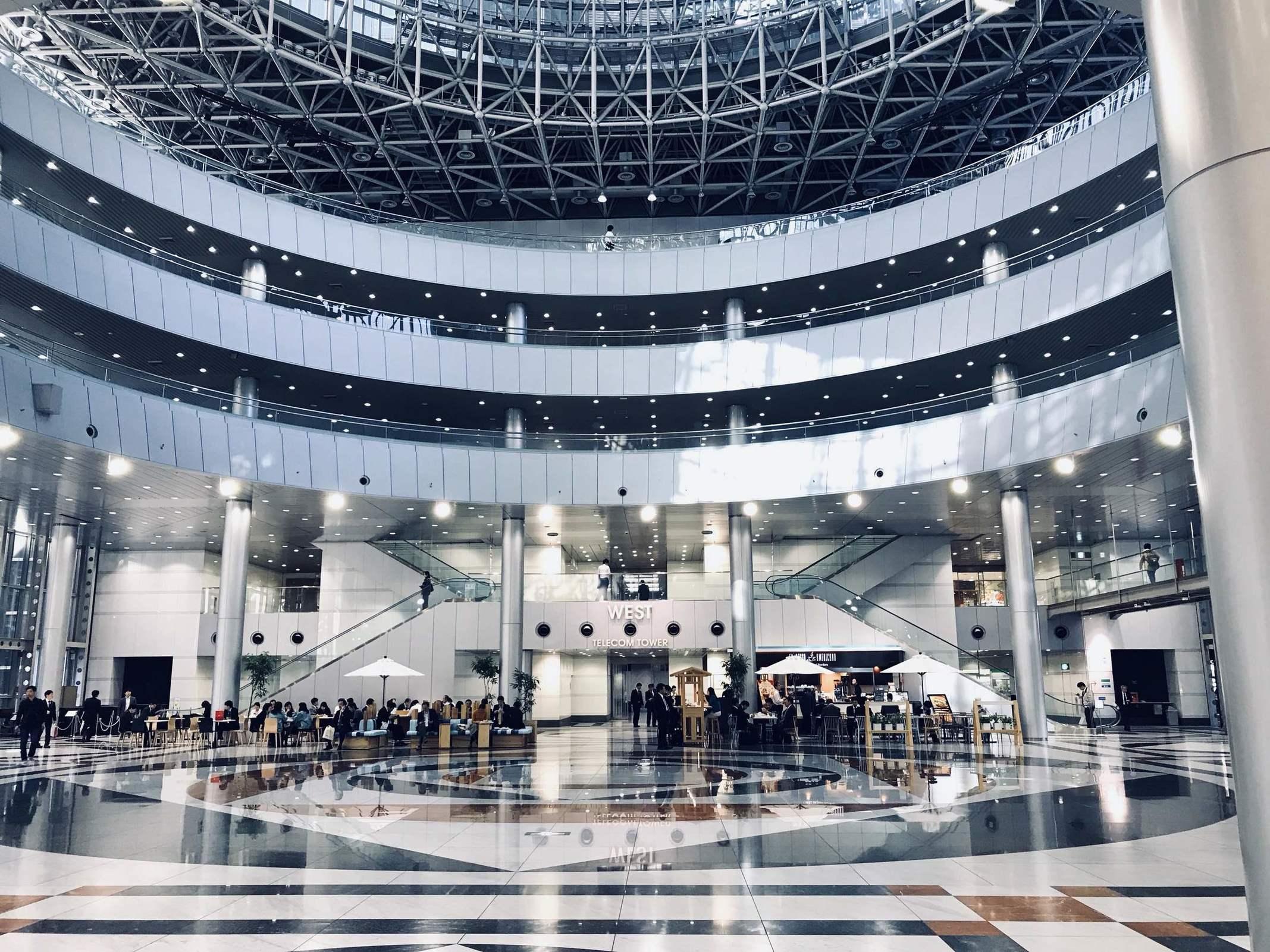 「テレコムセンタービル(東京都江東区青海2-5-10)」の画像検索結果