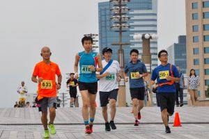 第6回 東京お台場はるかぜマラソン=臨海副都心青海春マラソン=<シンボルプロムナード公園>