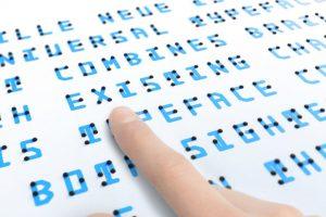 【アートな点字を体感!】Braille Neueワークショップ
