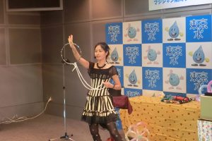 4月7日(日)マジシャン南海子のマジックショー〈東京都水の科学館〉